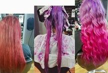 Rainbow hair / We're known for being colour specialists at our Bold Street salon, meaning we create the best rainbow hair around  Book online at www.voodou.co.uk