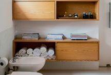 Banheiro dos sonhos / Indispensáveis, os banheiros passaram de mero figurantes nas casas e também fazem parte de toda decoração. Confira nossas ideias!