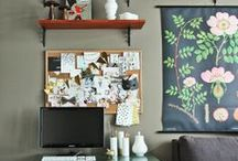Escritório dos sonhos / Os chamados home offices, além de funcionais e organizados devem ter muita personalidade, afinal, é um cantinho que você passará muito tempo do seu dia!