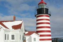 I Love N E Lighthouses / by Sharon Ruest
