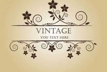 Vintage/Shaby Chić / Old style and beautiful things