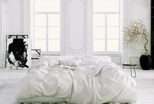 Minimalist Interiors / minimal interiors: white, black, etc.