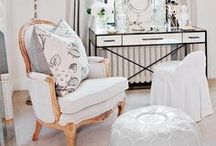 Vanity Spaces / inspiration for designing your vanity! vanity decor, vanity bedroom design, style a vanity at home