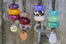 bijoux & jewelry♡ / gioielli artigianali, perle e pietre dure