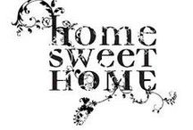 Home Sweet Home - Scritta