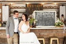 Beer Themed Wedding - Craft Beer Ideas / If you love craft beer, and it is a big part of your life, make it a part of your big day!  Craft beer lends itself to many aspects of great weddings—from flowers, to desserts, to decor.