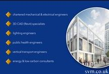 "A bit about SVM Consulting Engineers / We are a highly-skilled and enthusiastic engineering design consultancy whose considerable expertise informs our ethos of ""inspiring thoughtful design"" on every project we undertake. www.svm.co.uk"