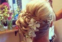 Bridal hair / Beautiful bridal hair inspiration