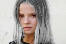Silver & grey hair / Silver and grey creations from our #VoodouArtists and a few of our stylists' favourite inspirations