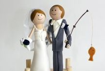 The Perfect Catch - Fishing Wedding Theme / Into to fly fishing or bass fishing?  If he is the only fish in the sea for you, and he thinks you are his perfect catch, why not go for it?  Celebrate it!  You are hooked for life!  Enjoy!