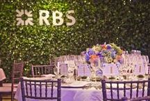 Project RBS Charity Gala Dinner / Arala created a beautiful indoor garden for client entertaining at the RHS Chelsea Flower Show, gala dinner 2011