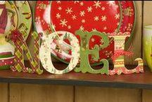 Natale - Lettere Decorate
