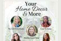 Your Home Decor and More Link Party / Share your home decor, home DIY projects, home styling tips, room reveals, and all things decor!