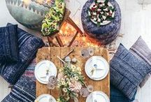 Bohemian Vibes / Boho living is alive and well in these spaces.  Look here for great inspiration!