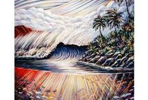 """Hawaii Art Dennis McGeary / Welcome! I'm Dennis McGeary, and I have resided in Hawaii since 1984 and create all of my work at my central Oahu painting studio. The colorful art photo prints, greeting cards are beautiful renditions of the original paintings. Each archival 8"""" x 10"""", 11"""" x 14"""" and 5"""" x 7"""" are signed and suitable for framing. You can feel confident that your item will be securely packaged and shipped immediately."""