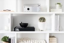 Shelving & Storage / Storage for the home including closets and shelves!