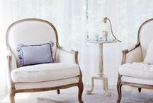 French Interiors / french and parisian interiors, bergère chairs, louis chairs, we love french decor and french interior style!