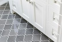 Perfect Floors / Feminine floor tiling and floor designs