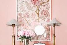 Feminine Interiors / feminine home spaces, feminine interiors, feminine decor, feminine home decor