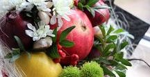 Dari! / inspiration bouquets, flowers, fruits, vegetables