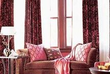 Window Treatments / Curtains, bay windows