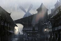 I Semi d'Inverno (luoghi) / I luoghi della nostra campagna di Dungeons & Dragons.