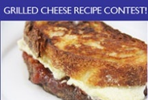 Grilled Cheese Recipe Inspiration / Grilled Cheese Recipe Inspiration. April is National Grilled Cheese Month so to celebrate One for the Table is holding a Best Grilled Cheese Recipe Contest. Visit www.oneforthetable.com for details and to enter your recipe!  Great prizes from The Cheese Store of Beverly Hills!