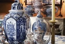 Royal Delft / Royal Delft or Delftware is tin-glazed earthenware. It was first made in the early 17th century in the canal city of Delft in The Netherlands. These Dutch potters would later bring the art of tin glazing to England. Today, antique Royal Delft, in all its varied forms, is highly collectable.