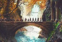 LOTR/the hobbit / by Isabel Groves