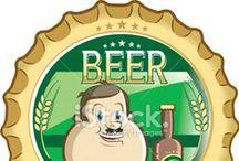 beer / beer and wine vectors