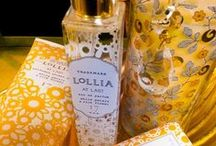 Lollia Life @ TAB / Descriptions an Info about Margo Elena's Lollia Life Line in 4 sensual and complex scents: Wish, At Last, In Love and Relax.  Testers are on the floor - come try them at #TABImports Courtenay, BC