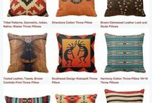 Villa Pillows / Exclusive styles and Patterns from Villa Home Collection