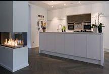 Project Geraerts - Z-parket - Floor: Delphi / A nicely designed interior with an exquisite herringbone pattern. Floor: Z-parket Delphi.  #zparket #hardwoodflooring #engineeredhardwoodfloor #underfloorheating