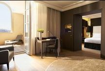 Project Hotel Intercontinental - Z-parket - Floor: New York & Paris / The  unprecedented Hotel Intercontinental Marseille chose to use our Z-parket floors for it's warm and cozy look & feel. Image courtesy of Intercontinental Marseille Hôtel - Photo Agency Nuel #zparket #interiordesign #engineeredfloors #architecture