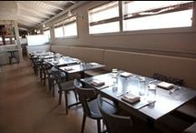 Project The Hungry Cat - Z-parket - Floor: Paris / The beautiful and delicious Santa Monica restaurant The Hungry Cat chose the Z-parket Paris floor to create an ambiance where everyone can feel right at home #zparket #interiordesign #solidhardwoodflooring #parquethardwoodflooring