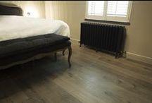Project E - Z-parket - Floor: Melite / The splendid warm Z-parket Melite floor in fashionable contemporary home. #zparket #hardwoodfloor #woodenflooring #engineeredwoodfloors