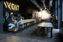 Project Café Volt - Z-parket - Floor: Tessera / Looking for a 70's floor Café Volt in Amsterdam fell in love with extraordinary Z-parket Tessera floor. Realization by Bloemen Parket bloemenparket.nl #zparket #interiordesign #hardwoodfloorpattern #woodfloor pattern
