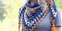 CROCHET SHAWLS, COWLS & SCARVES / Beautiful Crochet Patterns for Shawls, Cowls & Scarves