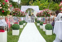 Meu casamento ♥ / Casamento ao ar livre- Inspiração
