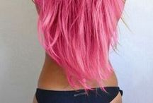 Hair / Beautiful and colorful hair.