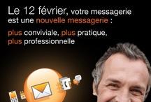 Orange / Messagerie Pro / Conception et mise en oeuvre du plan d'accompagnement au changement de la messagerie Pro des clients TPE du groupe Orange.