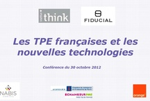 """Fiducial / Conception, en partenariat avec l'institut Think, et déploiement de l'étude """"Les TPE et les nouvelles technologies""""."""