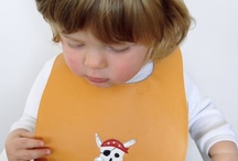 Miles in his Moppet leather bibs. / http://www.moppet.co.nz/collections/moppet-leather-bibs