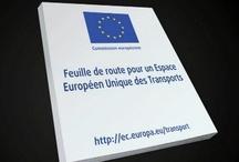"""Port de Barcelona / Présentation du livre blanc """"Feuille de route pour un espace unique des transports"""" au Cluster de Lyon."""