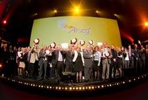 ARSEG / Nomination de Gilbert Blaise, client SNCF de l'agence, comme directeur de l'environnement de travail de l'année 2012.