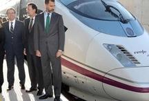 Ferrocarrils / Inauguration de la ligne TGV entre la France et Barcelone / 9 janvier 2013.