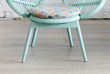 • Chairs chairs chairs & sofa • / I love Chairs!