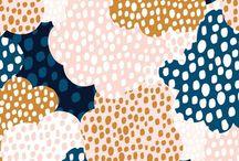 Pattern / Pattern design / fabric inspiration