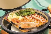 Big Green Egg and Recipes / We carry the BGE in our store as well as many BGE accessories.