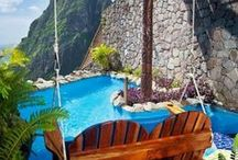 Dream Pools! / We can dream can't we. Who doesn't love swimming?!